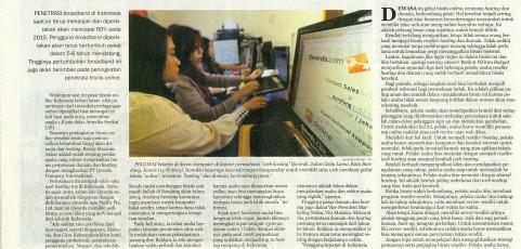 Seksinya Bisnis Domain (Pikiran Rakyat, 16 Agustus 2013)