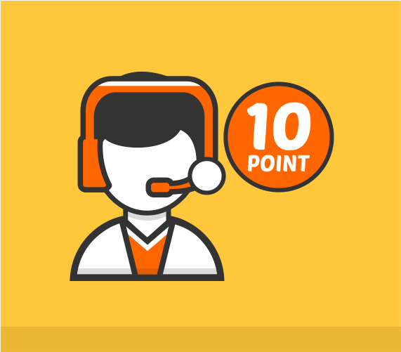 10 Point Support Extended Support